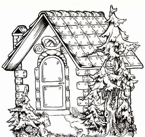 printable coloring pages for adults houses house coloring pages coloringpagesabc com