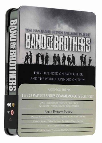 Band Of Brothers Dvd Box Set Collection Koleksi band of brothers complete hbo series commemorative 6