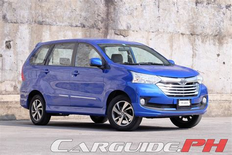 toyota avanza review 2016 toyota avanza 1 5g a t philippine car