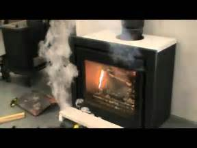 Wood Burning Fireplace Smoke In House by Convection Air Smoke Test On A Serenity 50 Inset