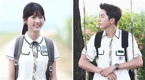film terbaru nam joo hyuk bikin iri nam joo hyuk kim sae ron makin dekat di foto