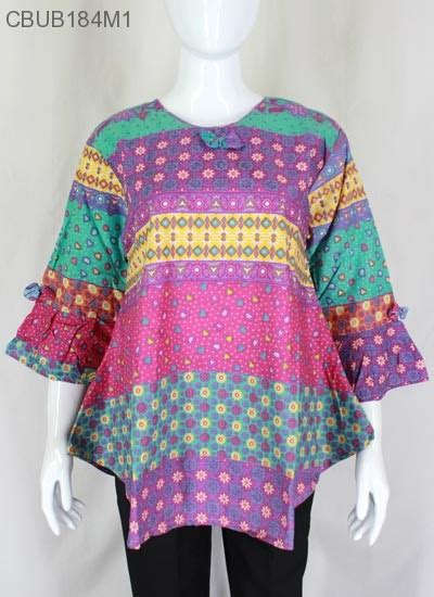Casandra Batik blus lonceng batik casandra blus lengan tanggung murah