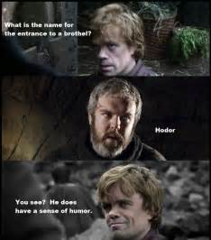 Hodor Meme - what is the name for the entrance to a brothel weknowmemes
