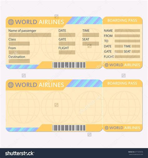 Fake Airline Ticket Maker Portablegasgrillweber Com Ticket Maker Template