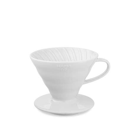 Hario Dripper V60 Ceramic 02 Gelas Pour Keramik Vdc 02r hario v60 02w ceramic dripper wilson s
