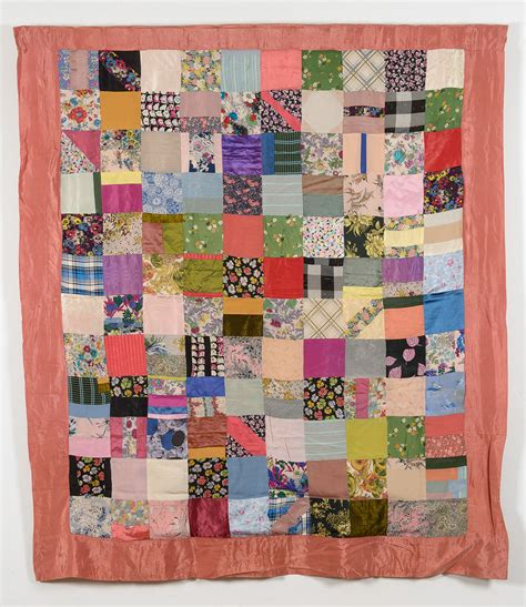 Square Patchwork Quilt - collections quilt museum and gallery york