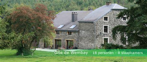 huis te huur ardennen familiehuis be groot vakantiehuis in de belgische