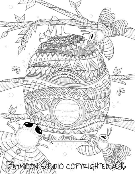Top 72 Honey Coloring Pages Free Coloring Page Honey Coloring Page