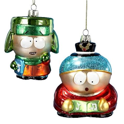south park glass ornaments set kurt s adler south