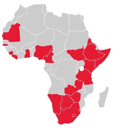 which countries in africa speak list of speaking countries in africa bestbrainz