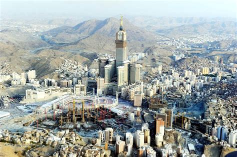 abraj al bait the abraj al bait tower in makkah saudi arabia gets ready