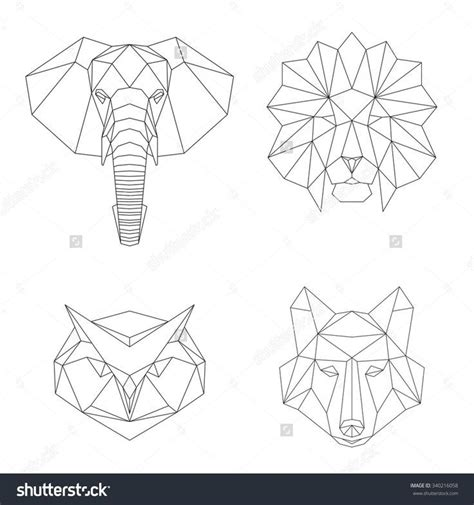 2017 trend geometric tattoo celtic owl check more at tatto ideas 2017 vector geometric low poly illustrations