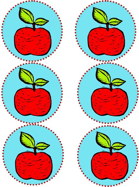 printable apple gift tags the fickle pickle teacher appreciation gifts