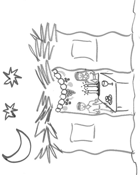 sukkot coloring pages sukkah coloring page sukkot ideas traditions