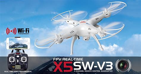 Drone Syme X5sw Fpv Hd Wifi Android Ready cheerwing syma x5sw v3 fpv explorers2 2 4ghz