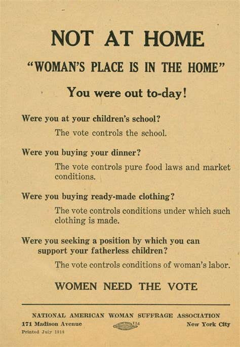 womens suffrage quotes 1900s quotesgram