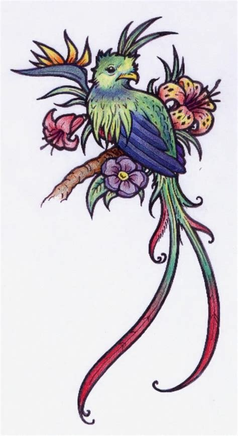 watercolor quetzal tattoo best 25 quetzal ideas on bright