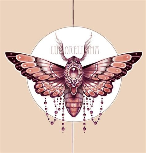 Moth Deign For A Customer By Mojoncio Tattoo Sketches Best Moth Designs Meaning