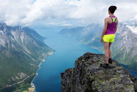 On top of the world in Norway: breathtaking images of
