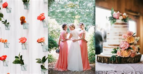 15 lovely ideas for a coral wedding theme