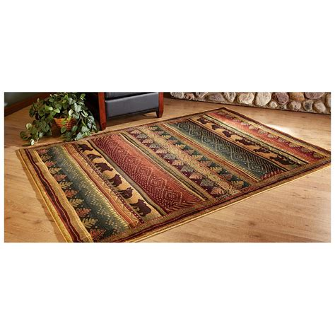 Bearwalk Area Rug 236609 Rugs At Sportsman S Guide Rug Guide