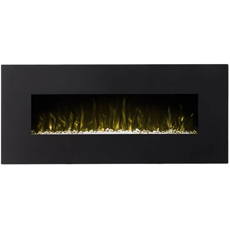 electric fireplace houston houston 50 inch electric wall mounted fireplace black