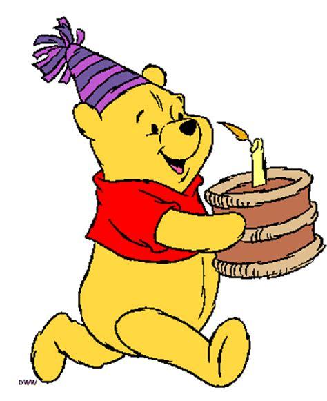 Winnie The Pooh Birthday Clipart winnie the pooh birthday clipart clipartsgram