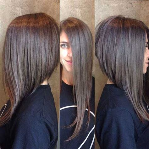 Long Layers Cut At An Angle | long layered angled bob haircut bob hairstyles 2017