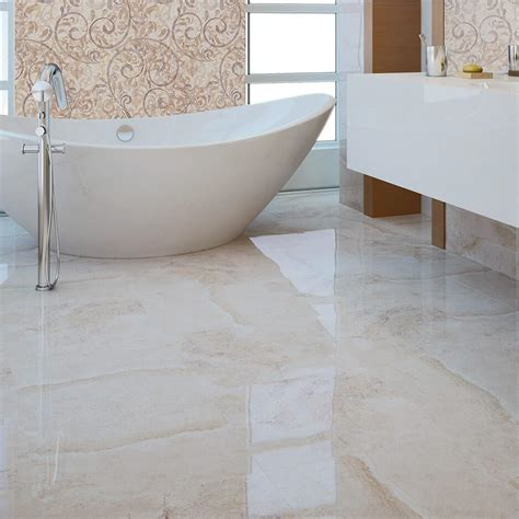 gloss tiles on bathroom floor marble effect tiles ceramic by cicogres