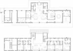 ground first floor plans rustic farmhouse in rosignano