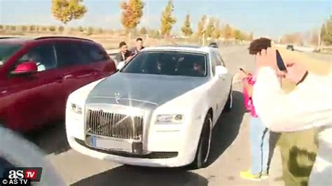 Cristiano Ronaldo Rolls Royce Cristiano Ronaldo Turns Heads As He Arrives At Real Madrid