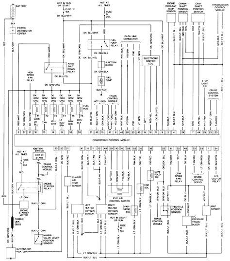 chrysler wiring diagrams repair guides wiring diagrams wiring diagrams autozone