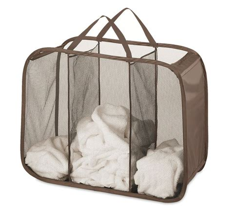 3 bag laundry new laundry sorter her 3 bags mesh clothes organizer