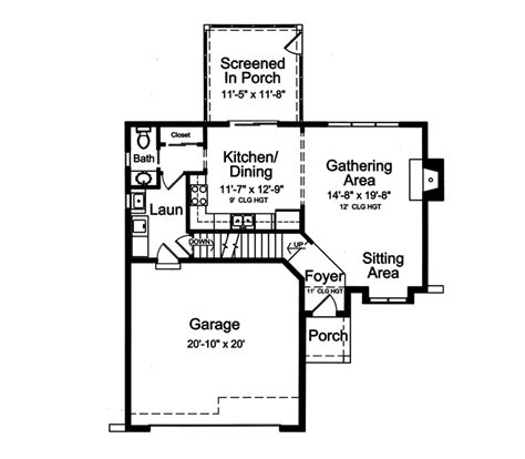 genevieve vacation home plan 065d 0326 house plans and more