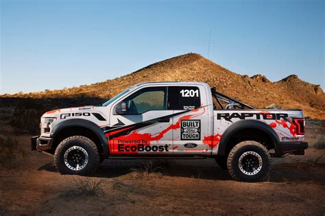 ford raptor rally truck 2017 ford f 150 raptor enters best in the desert off road