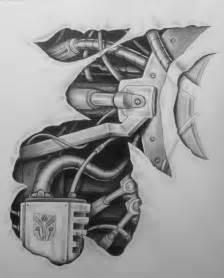 biomechanical tattoo nz 24 mechanical tattoo designs