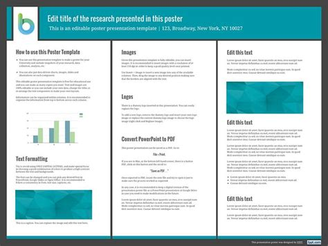 best 25 poster presentation template ideas on pinterest