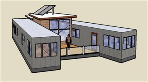 Converting A Trailer Into A House Semi Trailer Semi Trailer Tiny House Plans