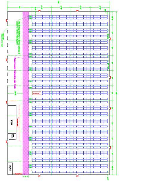 warehouse layout autocad design optimization warehouse design
