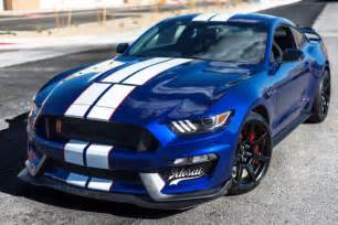 2016 ford mustang shelby gt350r impact blue