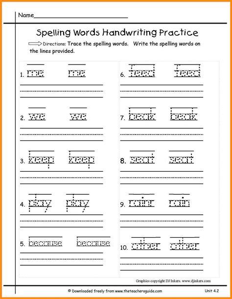 spelling activities for grade 5 grade worksheets spelling 5 1st grade
