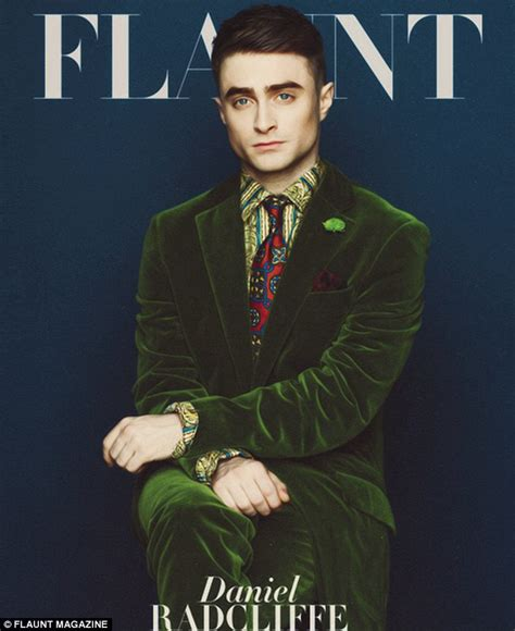 Grungy Potter Daniel Radcliff On The Cover Of Details Magazine by Daniel Radcliffe Says Kill Your Darlings Director Helped