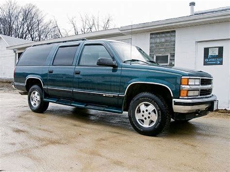 1995 suburban truck 1995 chevy suburban 1500 suspension four wheeler magazine