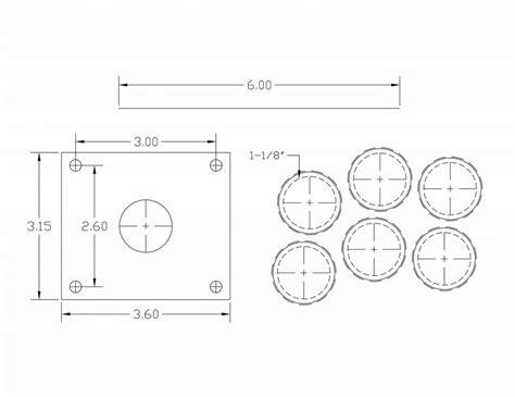 joystick layout template joystick vault happ stick ergonomic curved layout