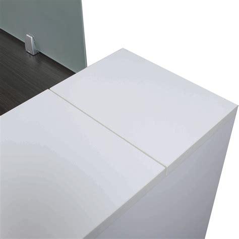 gray office desk laminate desk station gray and white national