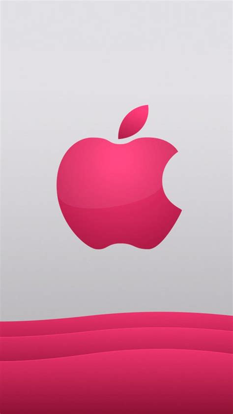 wallpaper for iphone 5 mobile9 pink logo beautiful apple logo wallpapers for iphone