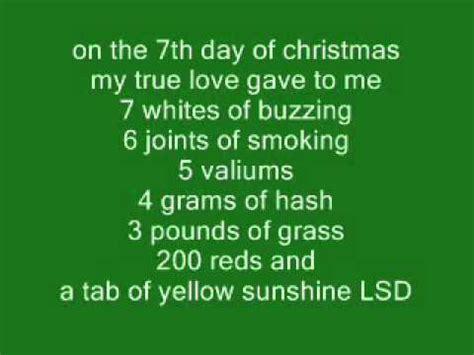 lyrics to rugs 12 drugs of