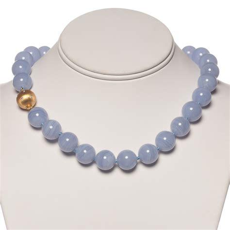 agate jewelry gump s blue lace agate necklace gump s