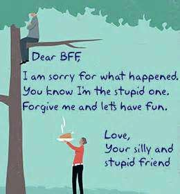 Apology Letter To Your Best Friend Apology Quotes For Husband My Image Quotes