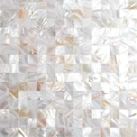 seashell tile backsplash shell tiles 100 seashell mosaic of pearl